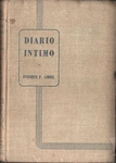 Materia de estudio - Henri-Frédéric Amiel - Diario íntimo