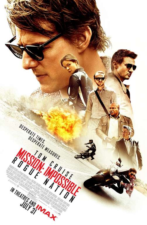 Lo que elegimos creer - Christopher McQuarrie - Misión: Imposible - Nación Secreta - Mission: Impossible - Rogue Nation