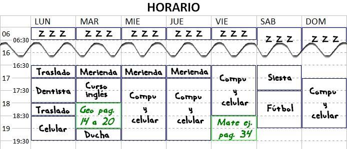 horario-utilizar-tiempo